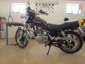 Suzuki GN 250_Scrambler