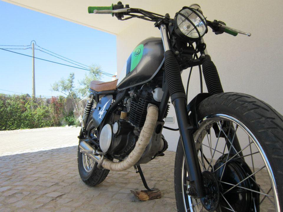 Yamaha SR 250 Scrambler1.9