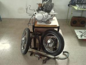 Yamaha SR 250 Scrambler4.2
