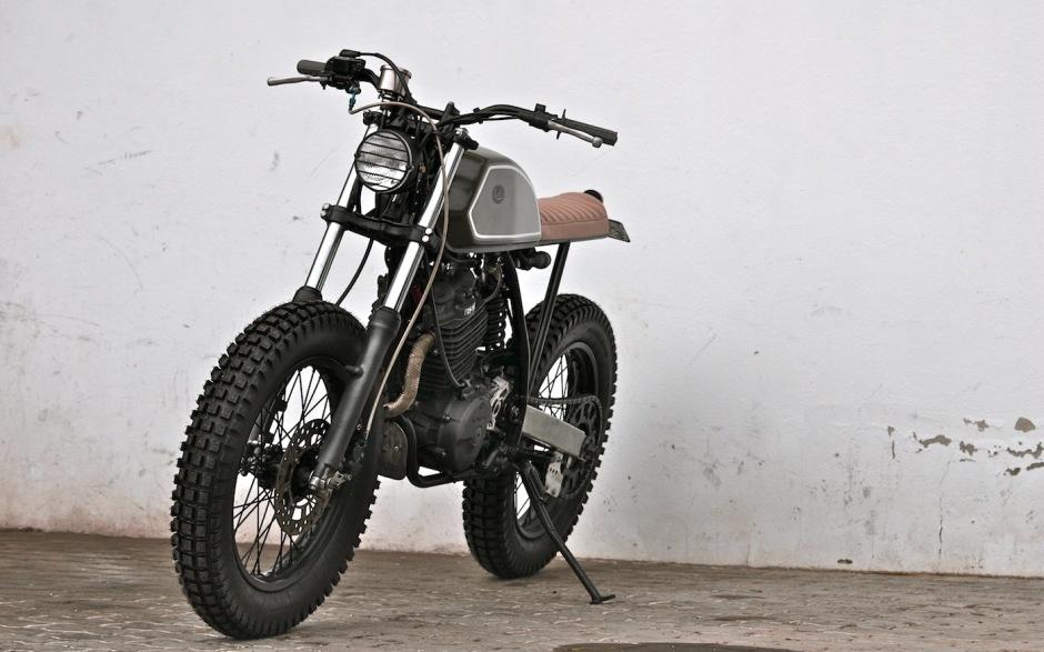 on Yamaha Xt 125