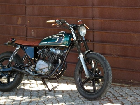 Lab Honda Cb X on Honda Nighthawk 750 Scrambler