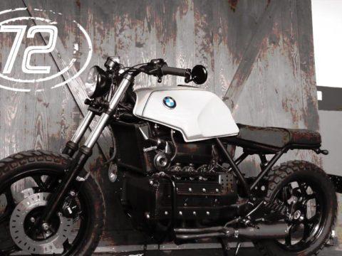 BMW k100 scrambler
